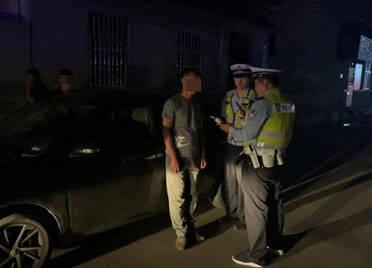 潍坊滨海:老司机好面子酒后驾车  心存侥幸走村道被当场查获