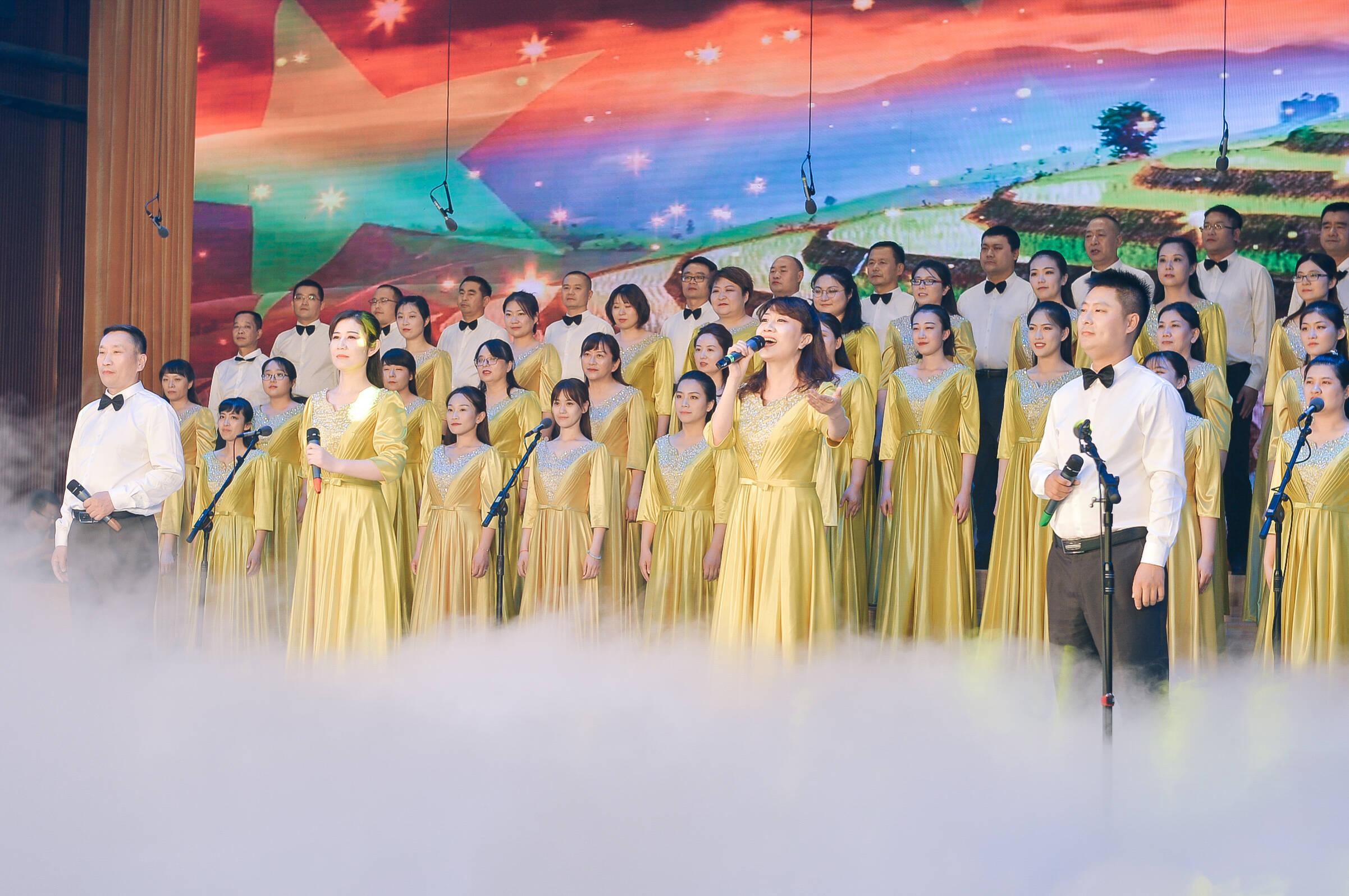 山东师大基础教育集团庆祝建党100周年教职工歌咏大会在济南举行