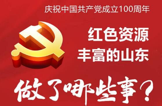 政能量|庆祝建党100周年,红色资源丰富的山东做了哪些事?