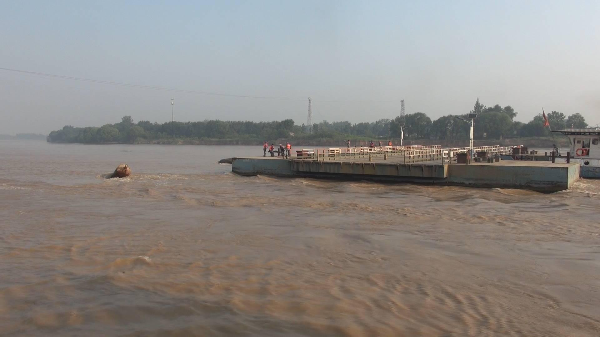 请绕行!2021年汛前黄河调水调沙启动 济南市17座浮桥拆除过半