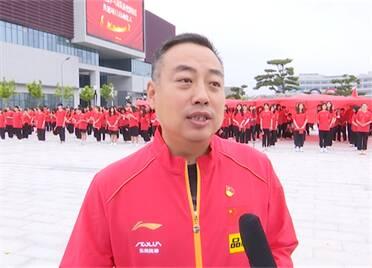 奧運健兒頌歌獻給黨丨劉國梁:用黨的精神激勵球隊 把飽滿的熱情投入到訓練和比賽中