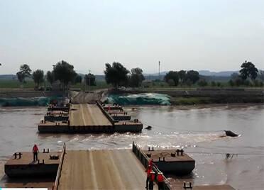 央视关注德州齐河:保障行洪安全 4座黄河浮桥拆除