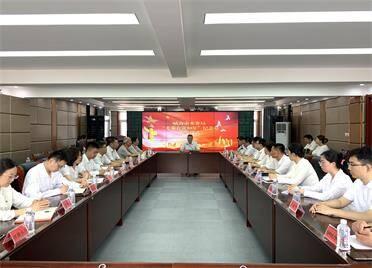 """威海市水務局舉行""""光榮在黨50年""""紀念章頒發儀式"""
