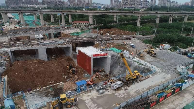 济南西部将多一条主干道!党杨路涉铁工程主体完工 将开启道路施工