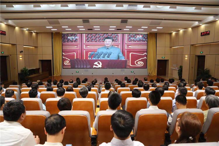 百年恰是风华正茂!山东省教育厅(委)组织收听收看庆祝中国共产党成立100周年大会