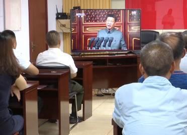 德城区退役军人事务局副局长陈鹏:听党话感党恩永远跟党走 若有战召必回