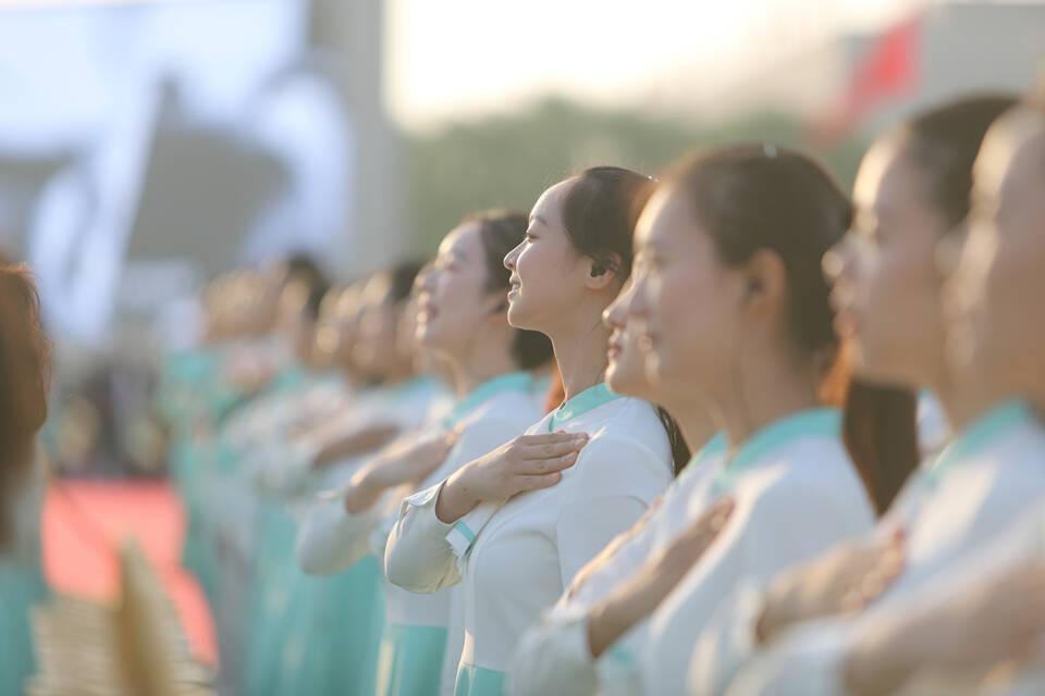 庆祝中国共产党成立100周年大会,现场高清图来了