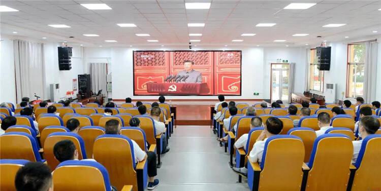 临沂职业学院全体师生集中收看庆祝中国共产党成立100周年大会