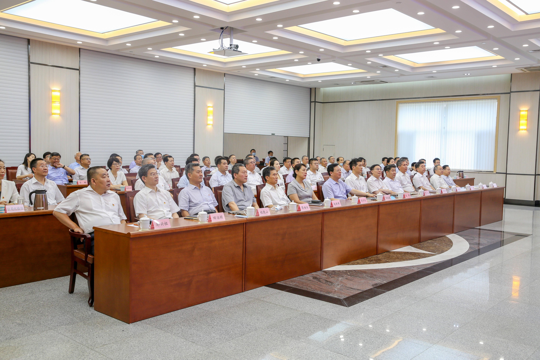 山东省市场监管局积极组织收听收看庆祝中国共产党成立100周年大会
