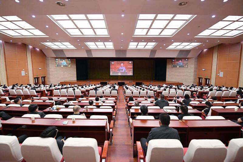 习近平总书记七一重要讲话在山东政法系统引发强烈反响