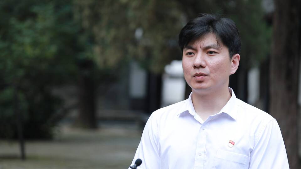 曲阜市纪检监察干部孔帅:讲好党的故事 传承好红色基因
