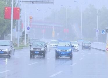 威海迎來降雨天氣 局部出現暴雨