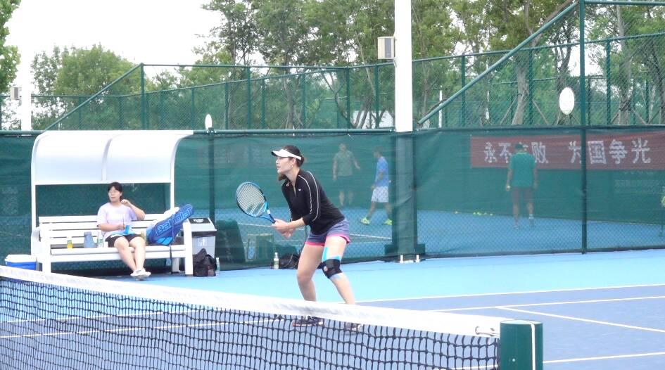 国家网球队在日照进行为期一个月的奥运备战集训