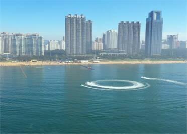 開啟夏日玩海模式!來威海國際海水浴場清涼一夏