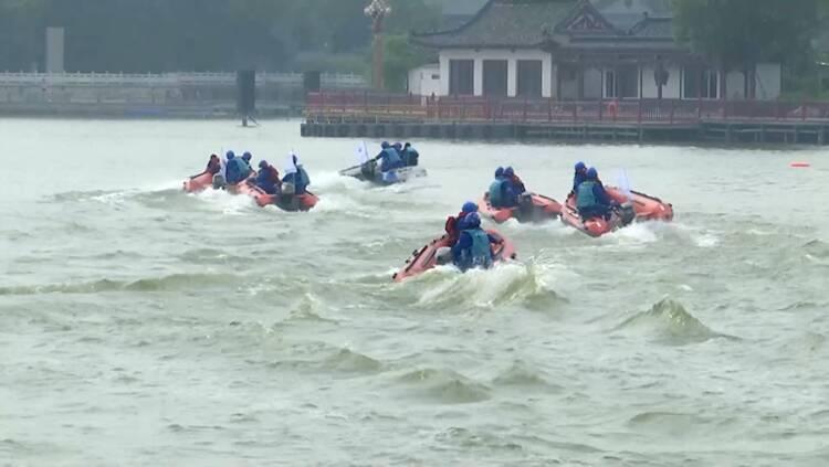 安全度夏!聊城开展水上救援综合演练 提升救援实战能力