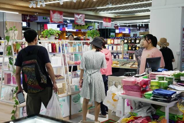 韓樂坊每日迎客1.5萬人次 帶旺威海韓國商品交易中心