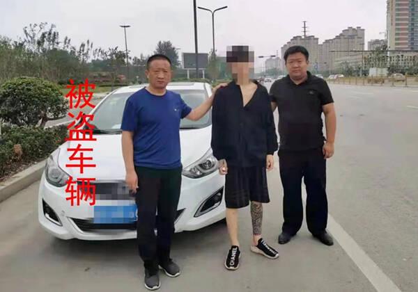 """本想""""拉车门""""盗窃 却""""顺手牵羊""""把车偷走 这俩惯偷在菏泽曹县栽了"""