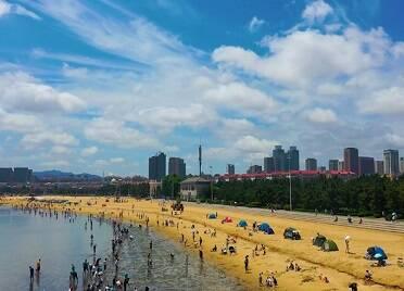威海:夏日炎炎 海的清涼送給你