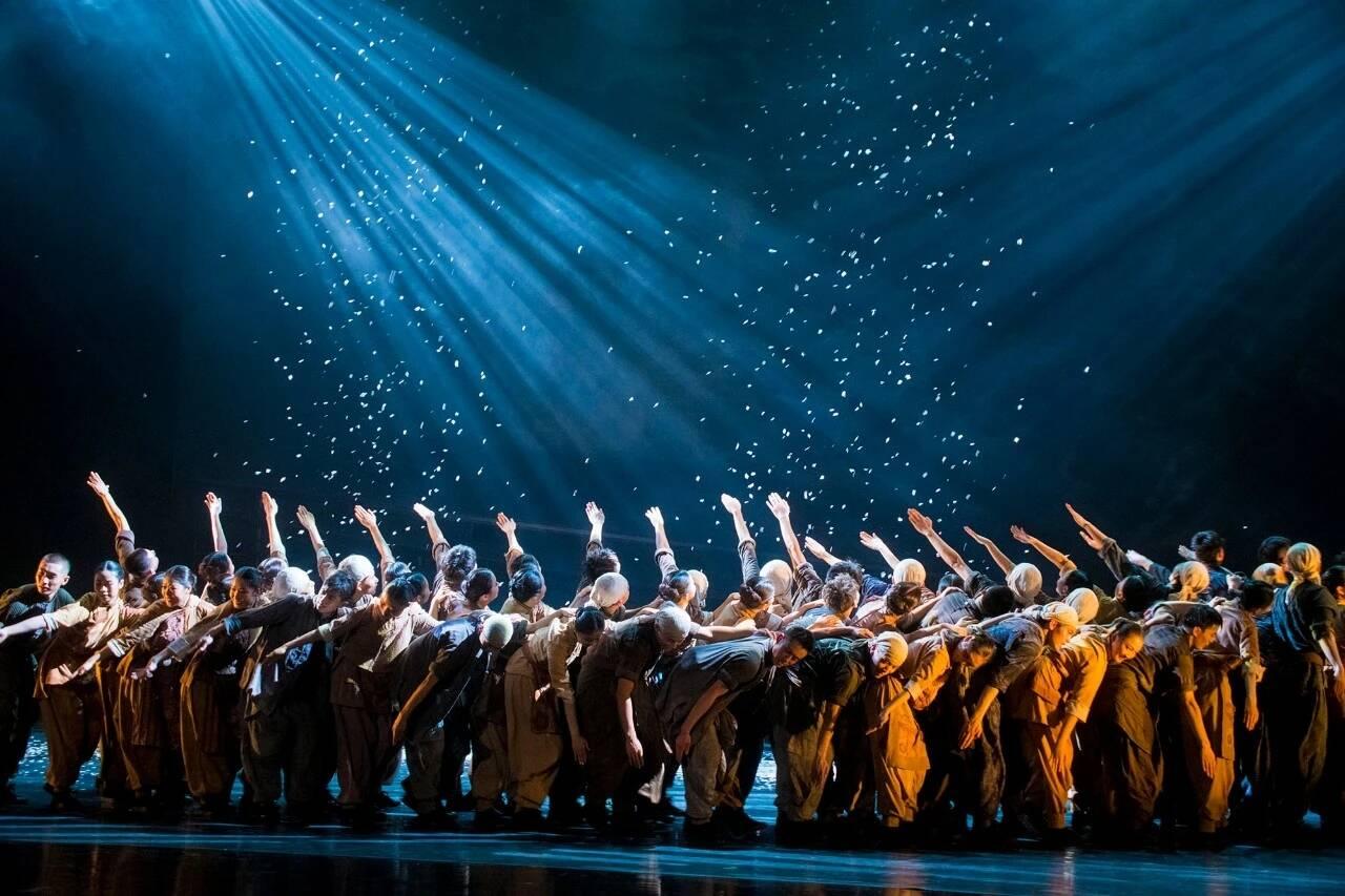 原创舞剧《地雷战》正式公演!烟大舞者再塑人民战争的英雄群像