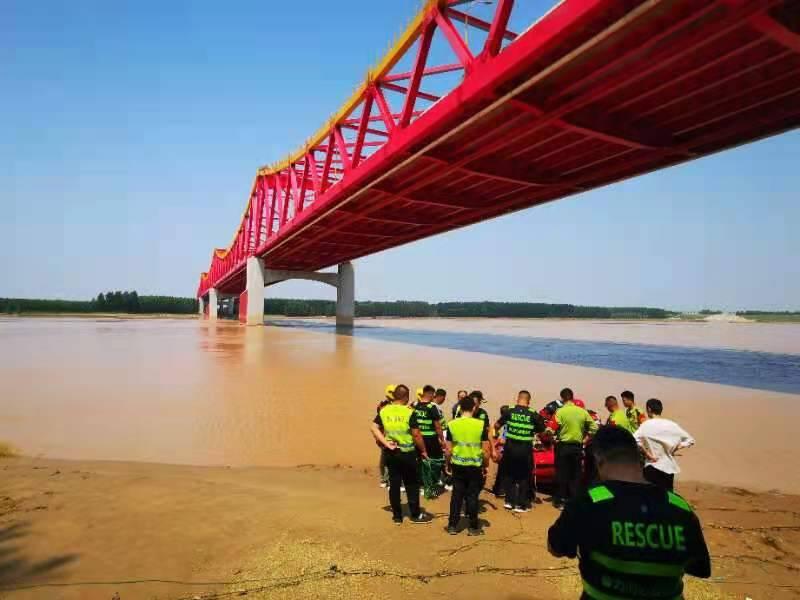 不野游!济南长清区两少年黄河溺水 各方力量全力救援