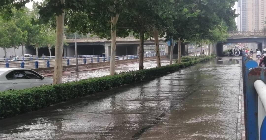 山东省防指发布防汛预警 突出抓好城乡低洼易涝区等风险防范