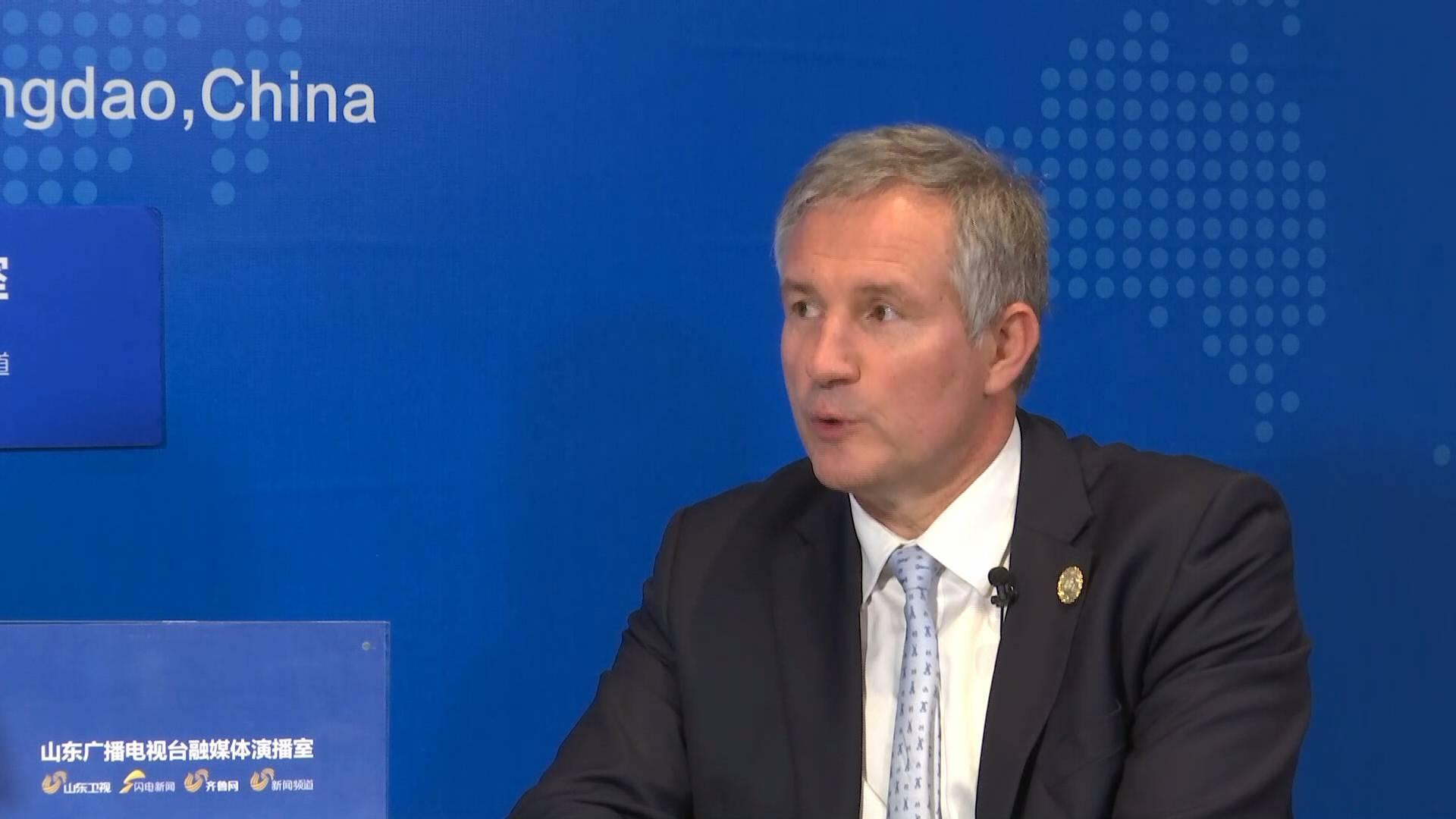 大使看峰会丨法国驻华大使罗梁:我们十分欢迎中国尤其是山东省的投资者赴法投资