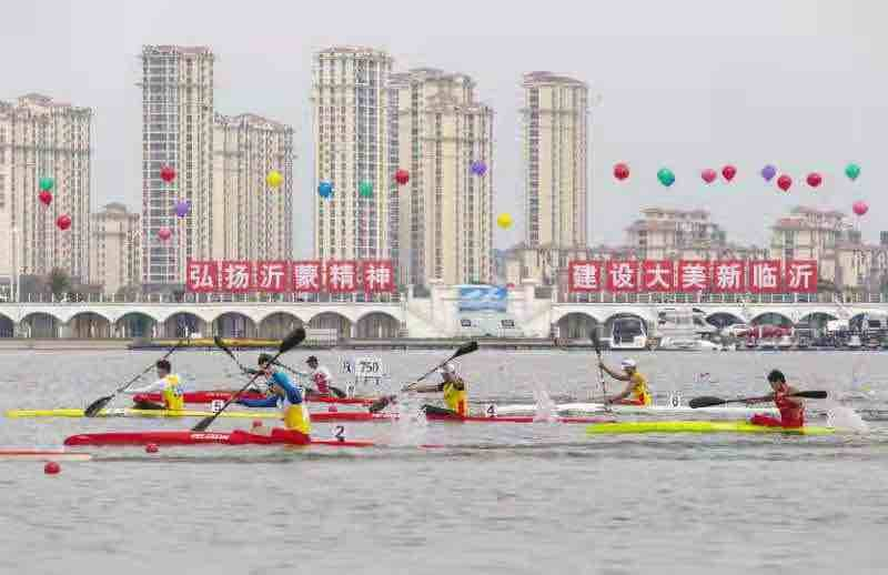 打造全民健身赛事活动大品牌  第十届中国沂河体育节启动