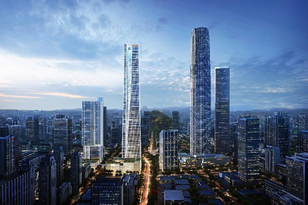 360米!济南中央商务区又一超高层建筑今日封顶