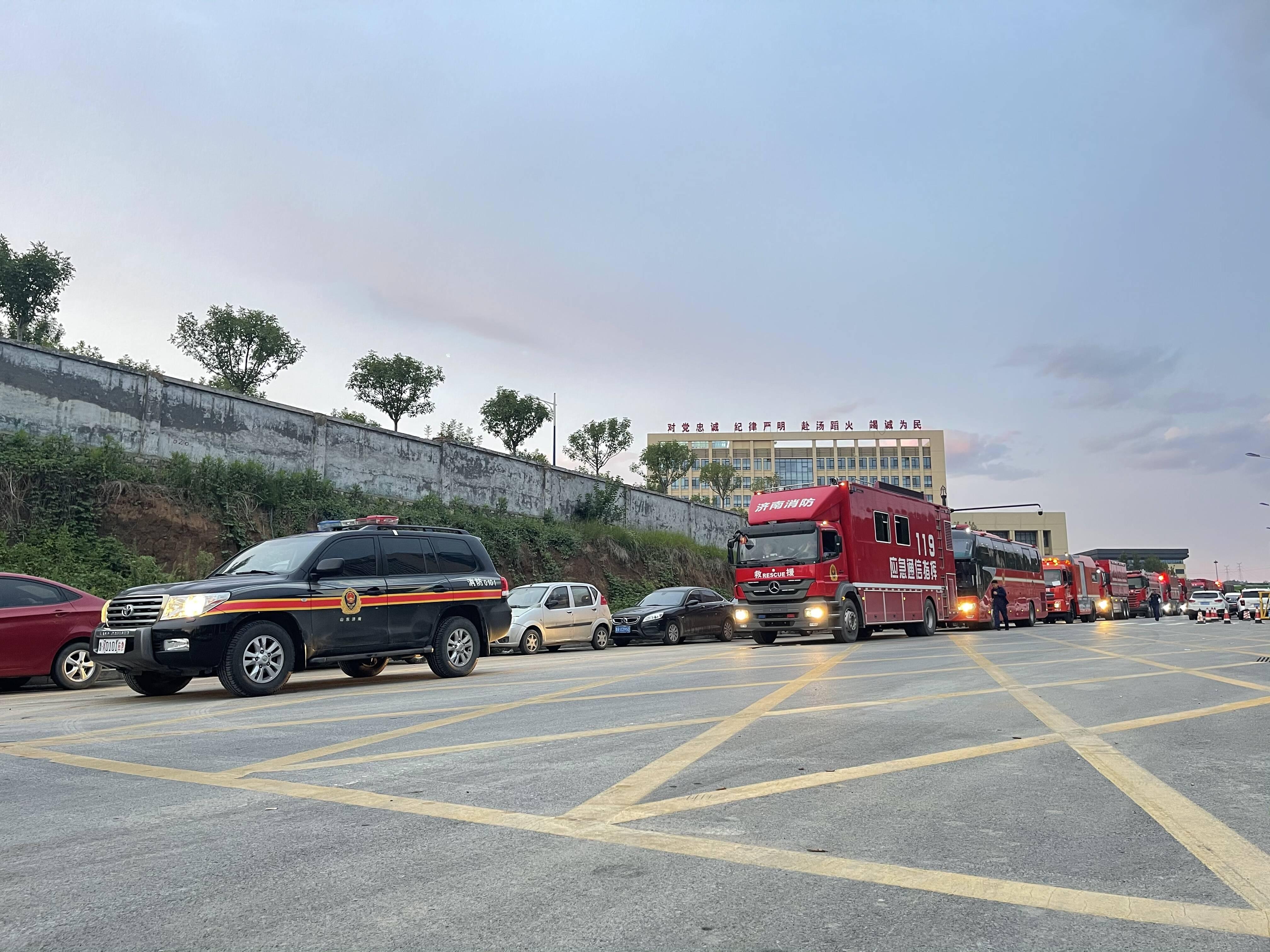 紧急调动13辆消防车 51名队员!济南市消防救援支队增援河南
