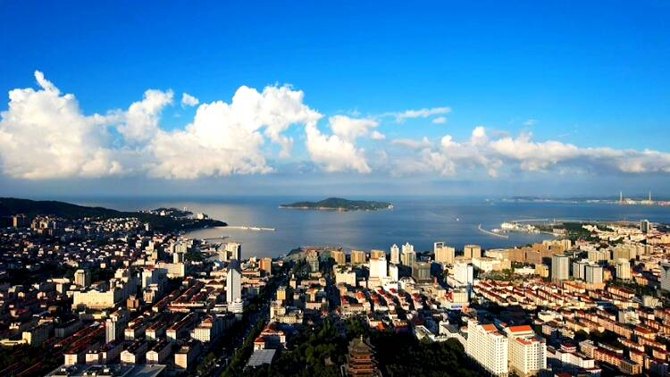蓝天白云晴空万里,想在威海遇见你!
