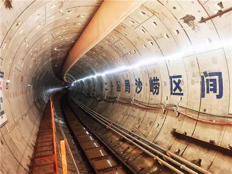 青岛地铁4号线沙崂区间贯通 为国内首个下穿海水潮汐河超浅埋地铁盾构区间