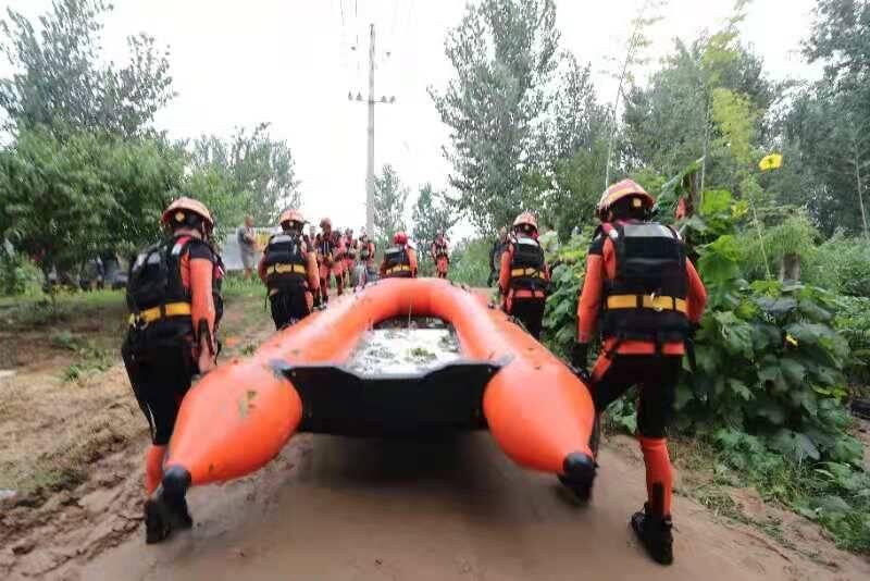 连续奋战!山东增援队转移疏散受灾群众千余人