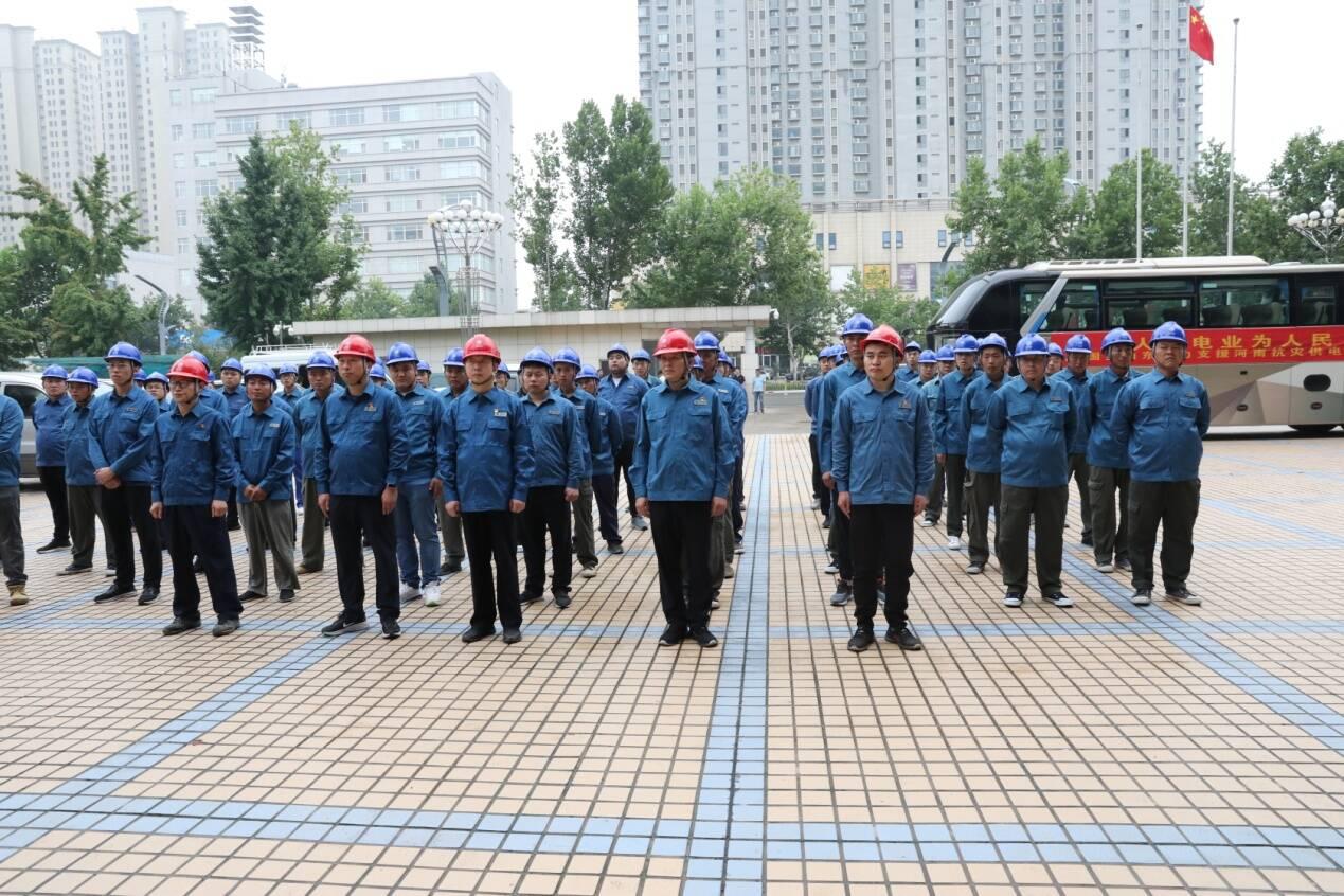 清晨出发,中午抵达!国网山东电力第三批110名抢修人员急赴郑州
