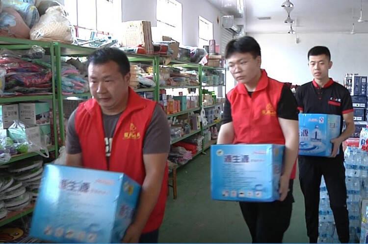 诸城志愿者驰援河南:用我们山东最朴实的民风 给河南人民送去温暖