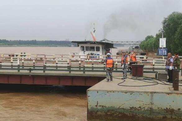 黄河山东段迎来大流量洪水过程 山东要求24小时不间断巡查排查黄河工程