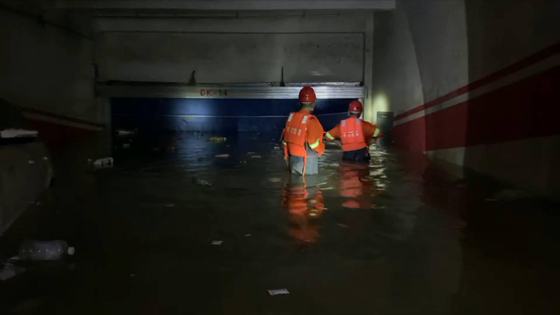 鲁豫同心 山河情深|郑州翰宇广场小区已恢复照明 晚上将正常供电