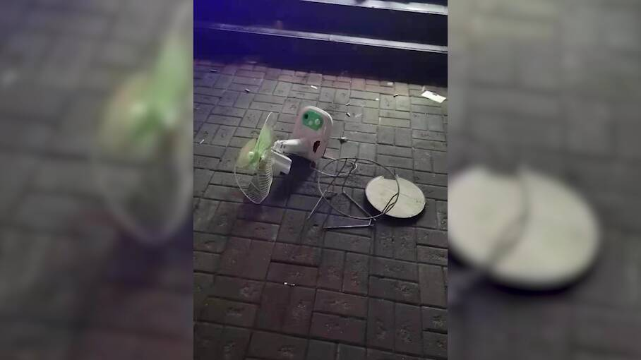 首例!聊城东昌府区一男子酒后从13楼扔下凳子风扇,高空抛物被刑拘