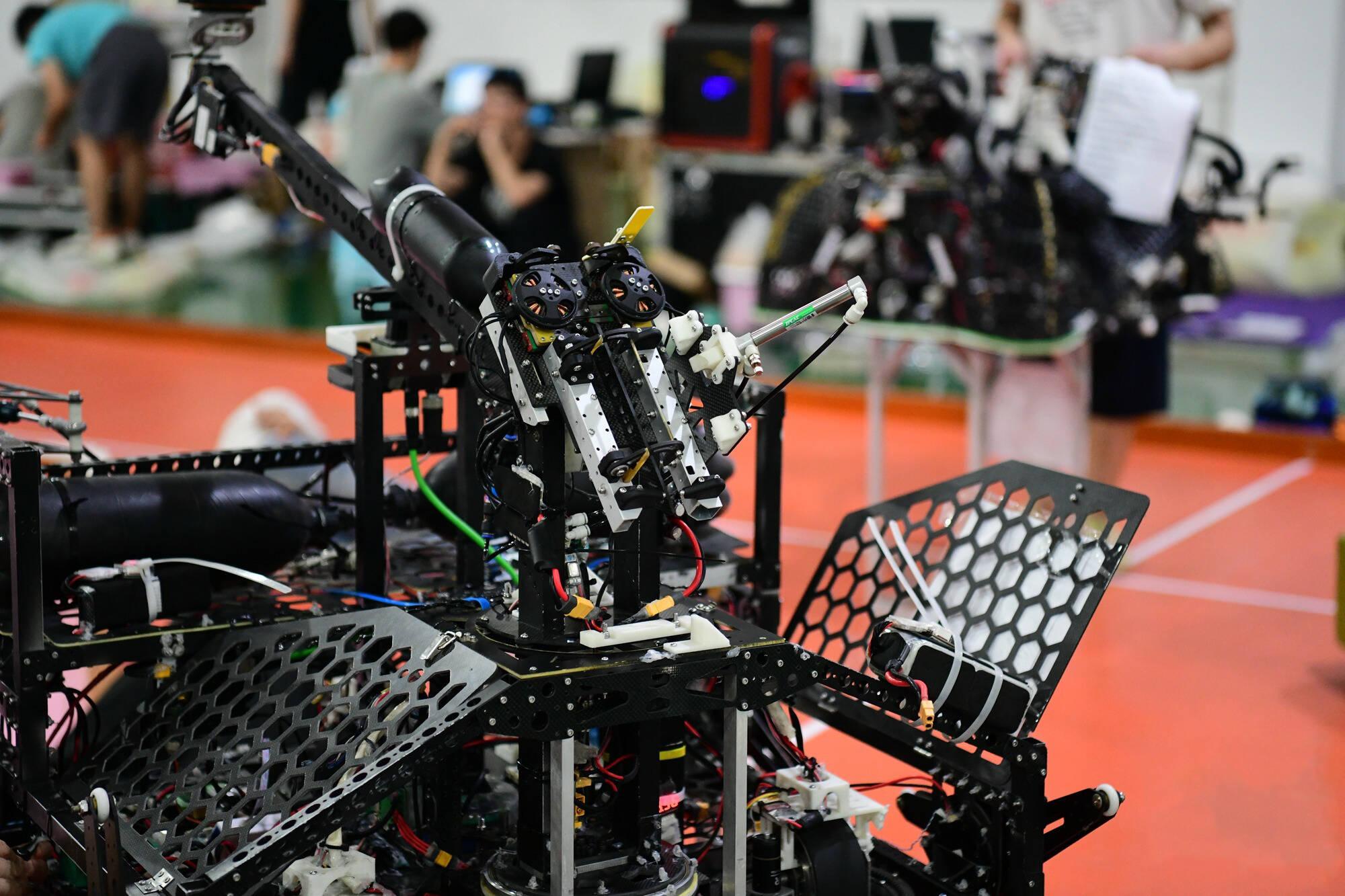 闪电海报 第二十届全国大学生机器人大赛ROBOCON赛事日程早知道