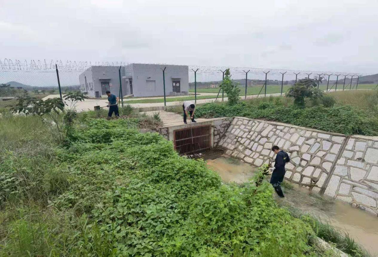 """山东省机场管理集团各权属机场多措并举积极应对台风""""烟花"""""""