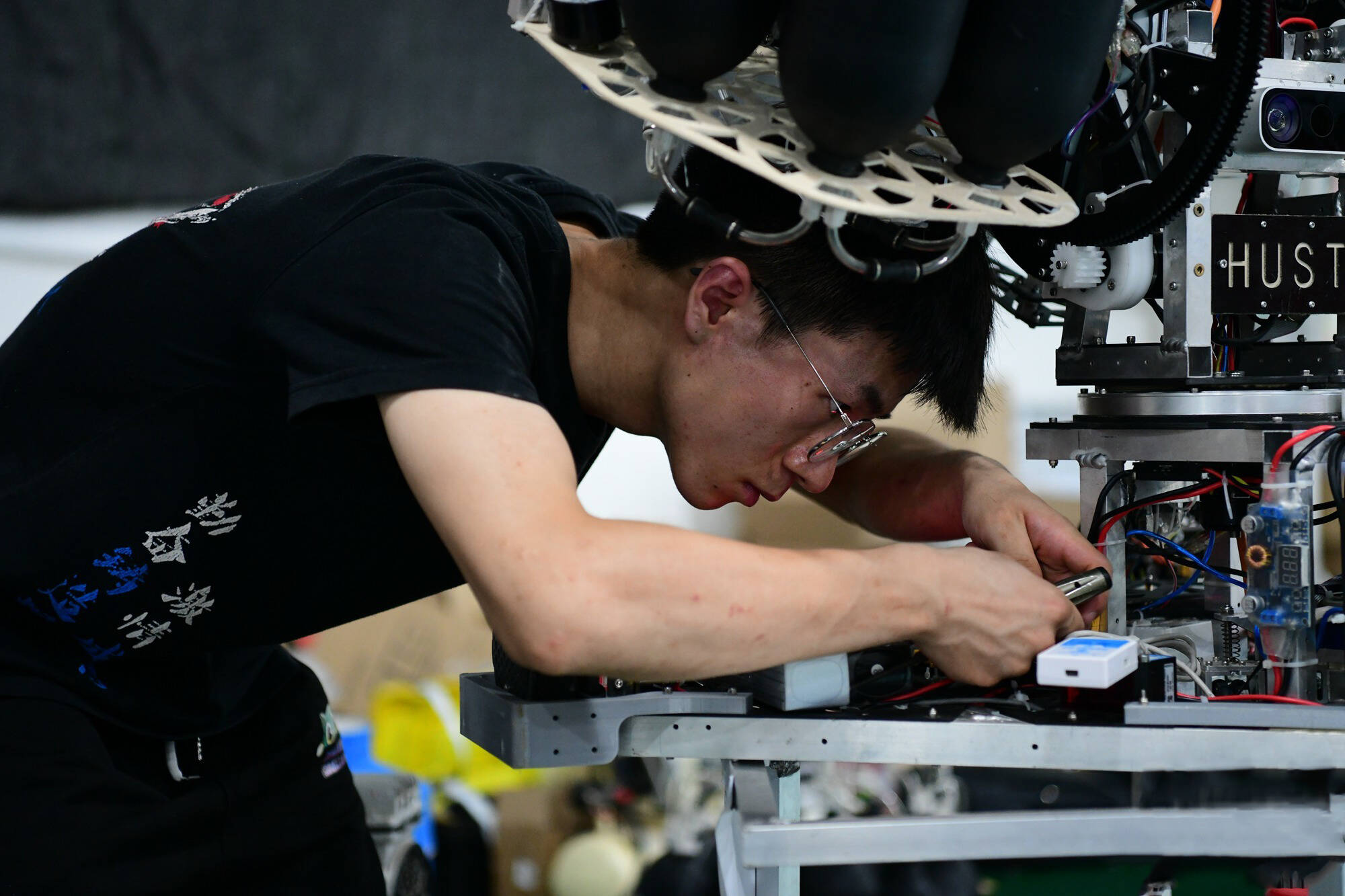 影像力 科技感与少年元气的碰撞!第二十届全国大学生机器人大赛ROBOCON开幕精彩瞬间
