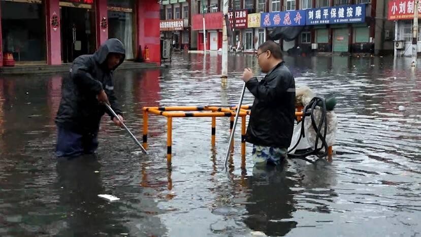 """闻""""汛""""而动!聊城高唐抢排积水战""""内涝"""",目前城区已无明显积水"""