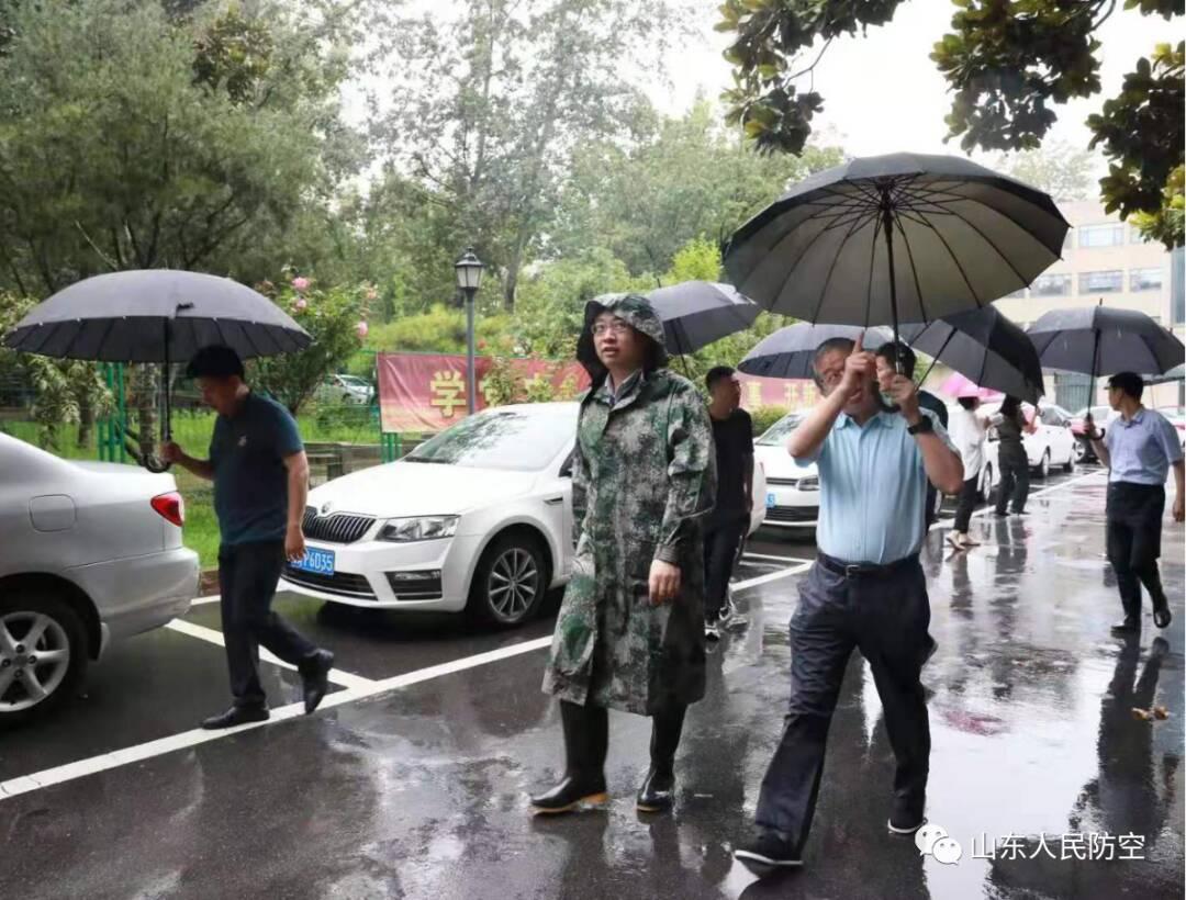 山东省人防办组织开展省直单位人防工程汛期安全巡查工作