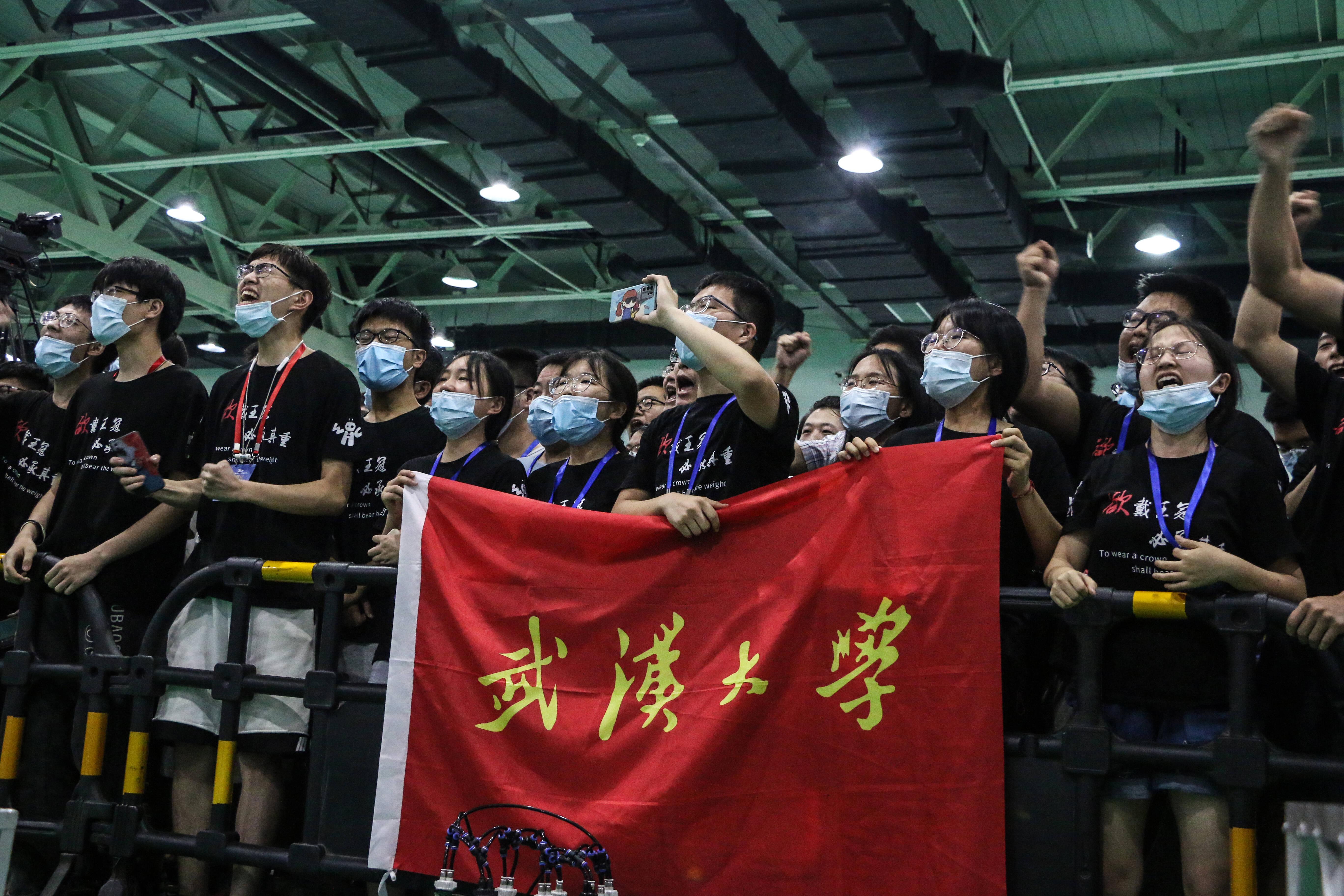 武汉大学夺得冠军!第二十届全国大学生机器人大赛ROBOCON今日闭幕