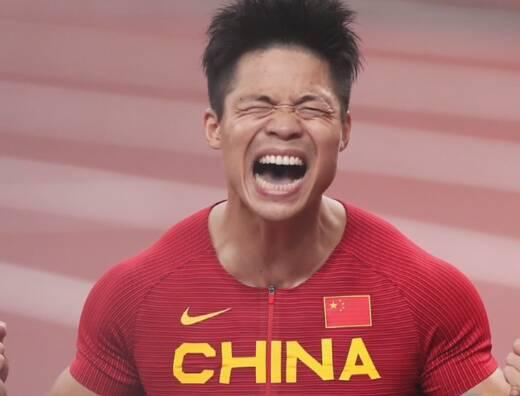 苏炳添获得东京奥运会男子100米第六名