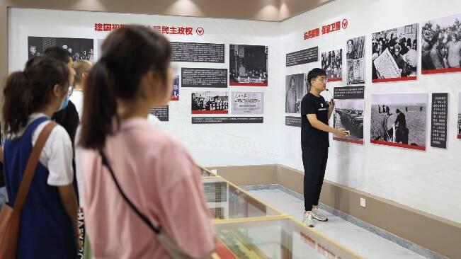 """潍坊昌乐近200名在读大学生投身暑期公益实习岗位 为乡村振兴注入""""青春动力"""""""