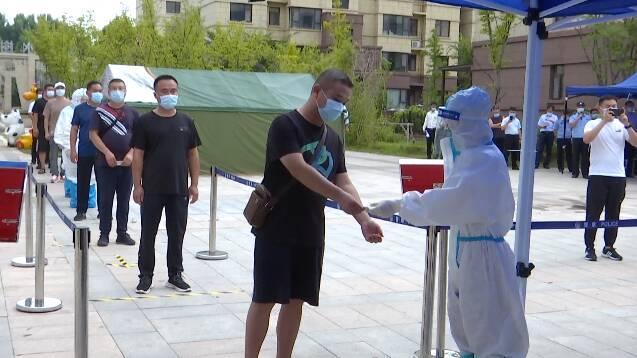 社区封控、核酸检测、环境消杀……潍坊市坊子区开展疫情防控应急演练