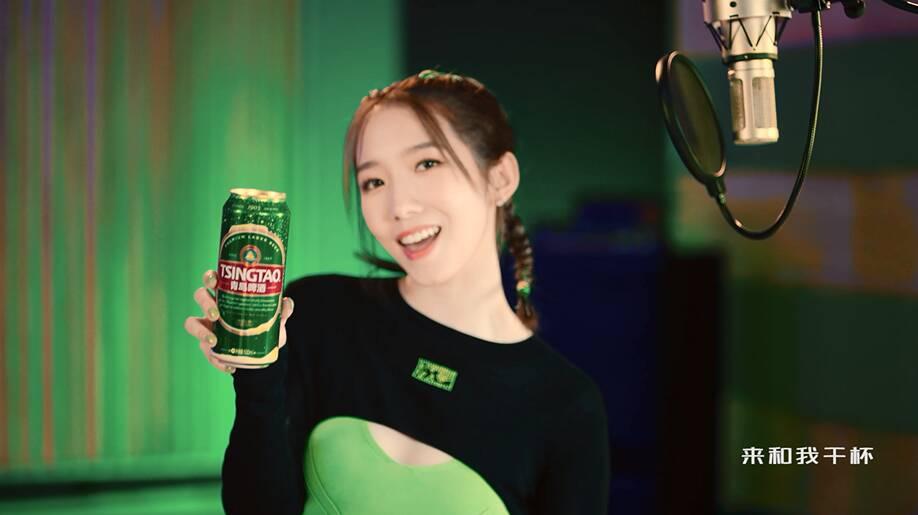 青岛啤酒:为中国健儿的每次全力以赴,干杯!