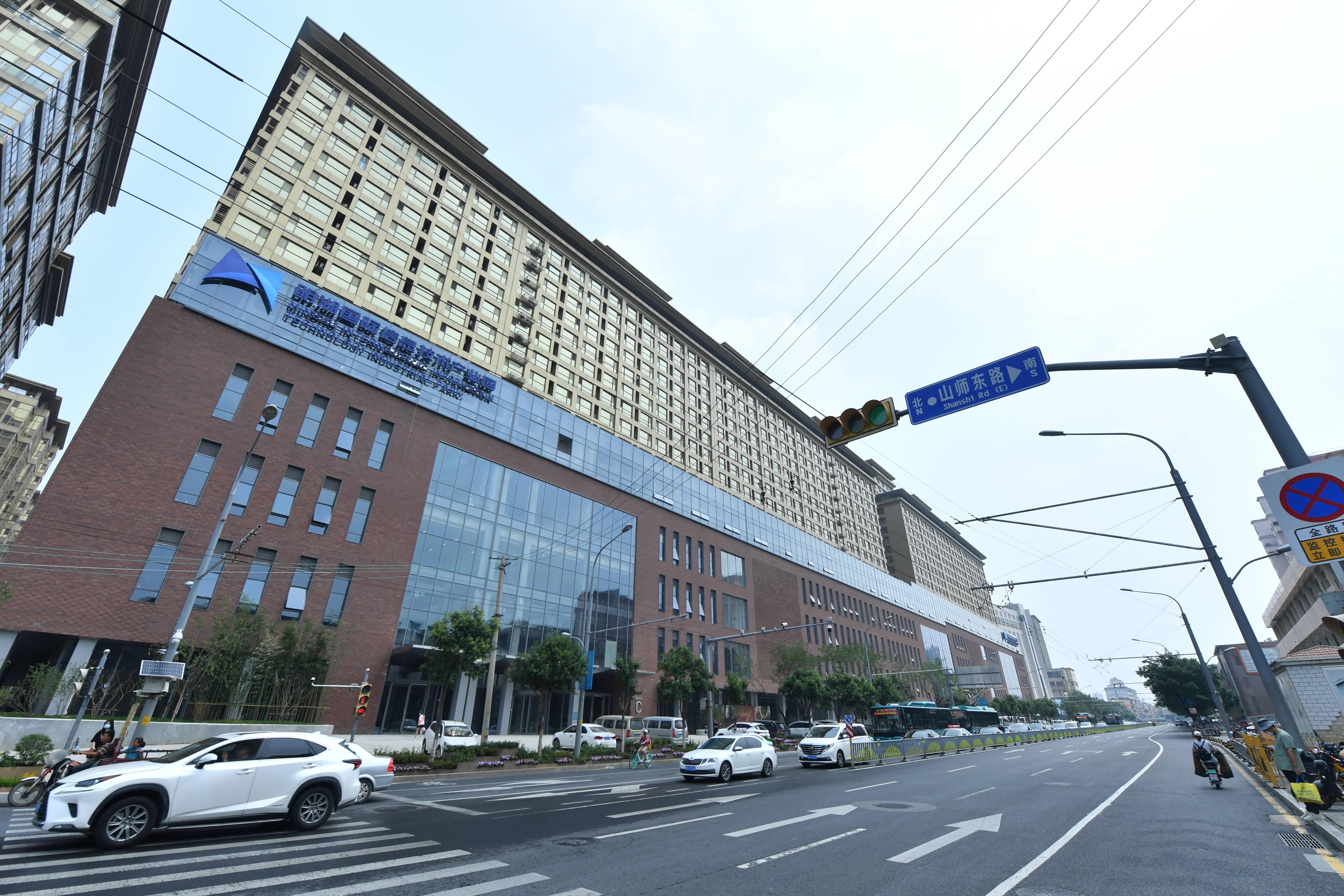 组图|产业园+时尚餐饮,济南诚基中心沿街楼改造项目初见模样
