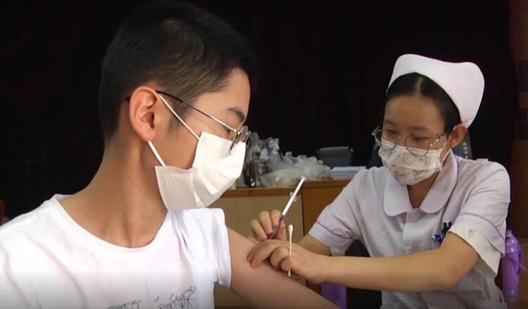 安丘市启动12-14岁学生新冠疫苗接种工作