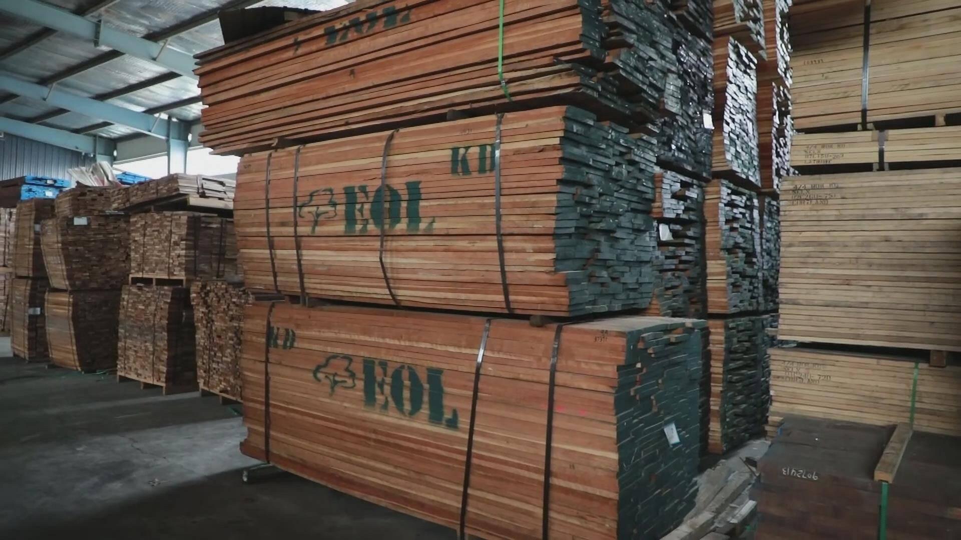 宁津一企业存有未报备的进口木材 因疫情防控落实不力被责令停业整顿